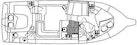 Silverton-402/422 Motoryacht 1997-For Petes Sake Ft Pierce-Florida-United States-Floorplan Diagram-1278555 | Thumbnail