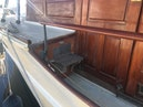 Elco-Deckhouse Motoryacht 1928-Queen O Scots Wickford-Rhode Island-United States-Side Deck Step To Foredeck-1284965 | Thumbnail