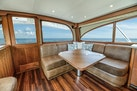 F&S-Custom Carolina with Seakeepers 2013-Epiphany Key Largo-Florida-United States-Cabin Entry and Salon Settee to Port-1447400 | Thumbnail