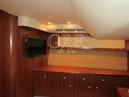 Tiara Yachts-5800 Sovran 2008-SLOWLY FOUR La Spezia-Italy-Tiara 5800 Sovran, Owners Cabin Tv-1306781 | Thumbnail