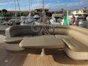 Tiara Yachts-5800 Sovran 2008-SLOWLY FOUR La Spezia-Italy-Tiara 5800 Sovran, Cockpit Dinette-1306768 | Thumbnail