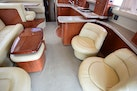 Sea Ray-480 Sedan Bridge 2003-Moondance Stuart-Florida-United States-Salon Seating And Table Overview From Aft Deck Entry-1308115 | Thumbnail