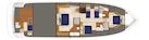 Hatteras-M75 Panacera 2022-M75 PANACERA Seattle-Washington-United States-Lower Deck Arrangement-1578501 | Thumbnail