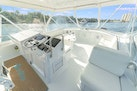 Hatteras-55 Convertible 1985-One More Fort Lauderdale-Florida-United States-Helm And Seating On Flybridge-1313990 | Thumbnail