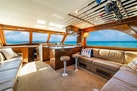 Hatteras-55 Convertible 1985-One More Fort Lauderdale-Florida-United States-Large L-Shaped Sofa To Starboard-1313974 | Thumbnail