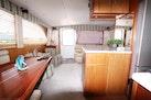 Ocean Yachts-55 Super Sport 1988-Fisherman Joe Kel Jensen Beach-Florida-United States-Salon To Aft From Galley-1317545 | Thumbnail