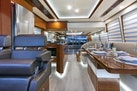Dyna Yachts-63 Hardtop 2020 -North Palm Beach-Florida-United States-Lower Helm Dinette-1460387 | Thumbnail