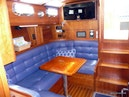 Sabre-36 Express Cruiser 2001-Cause We Can Palm Beach Gardens-Florida-United States-Dinette and Cabin Entrance-1318563 | Thumbnail