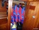 Sabre-36 Express Cruiser 2001-Cause We Can Palm Beach Gardens-Florida-United States-Master Stateroom Storage-1318571 | Thumbnail