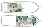 Ocean Yachts-Convertible 2009-Hog Wild Key West-Florida-United States-54 Ocean Yachts Layout-1322133 | Thumbnail