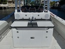 Hydra-Sports-Siesta Edition HCB 2019-Not Fishing II Boca Raton-Florida-United States-Rear Refrigerator With Sink At Console In Cockpit-1348453 | Thumbnail