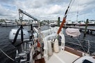 Kelly Peterson-Center Cockpit Cutter 1982-Stay Tuned Stuart-Florida-United States-Dinghy Davit And Dinghy-1376161 | Thumbnail