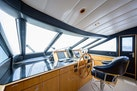 Queenship-Pilothouse Motor Yacht 1996-UNBRIDLED Stuart-Florida-United States-Chart Table with Light-1383273 | Thumbnail