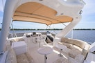Queenship-Pilothouse Motor Yacht 1996-UNBRIDLED Stuart-Florida-United States-2 Small Tables and Bimini Top-1383322 | Thumbnail
