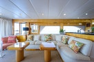 Queenship-Pilothouse Motor Yacht 1996-UNBRIDLED Stuart-Florida-United States-2 Separate Cocktail Tables converts into Dining Table-1383279 | Thumbnail