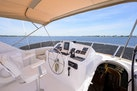 Queenship-Pilothouse Motor Yacht 1996-UNBRIDLED Stuart-Florida-United States-Helm and Flybridge Acccess from Wheel House-1383320 | Thumbnail