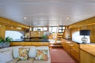 Queenship-Pilothouse Motor Yacht 1996-UNBRIDLED Stuart-Florida-United States-Salon to Galley-1383283 | Thumbnail