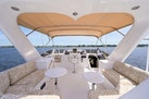 Queenship-Pilothouse Motor Yacht 1996-UNBRIDLED Stuart-Florida-United States-Port and Stb L Shape Bench Seating with Sunbrella Cushions-1383323 | Thumbnail