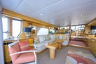 Queenship-Pilothouse Motor Yacht 1996-UNBRIDLED Stuart-Florida-United States-4 Large Salon Windows give a Spacious feel-1383277 | Thumbnail