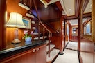 Feadship 1992-NEVER ENOUGH Nassau-Bahamas-Stairway to Upper Deck-1434183 | Thumbnail
