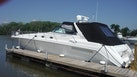 Sea Ray-500 Sundancer 1996-Fifty Shades Red Wing-Minnesota-United States-Port Side at Dock-1433689 | Thumbnail