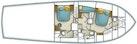 Ocean Yachts-SS 2005-Whiskey & Wine Stuart-Florida-United States-Layout Diagram-1434607 | Thumbnail