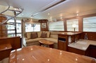 Riviera-Enclosed Flybridge 2007-Magica II Coral Gables-Florida-United States-Dinette View To Salon-1443165 | Thumbnail