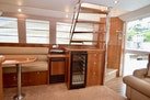 Riviera-Enclosed Flybridge 2007-Magica II Coral Gables-Florida-United States-Salon View To STBD Ice Maker_wine Cooler-1443162 | Thumbnail