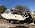 Boston Whaler-320 Outrage Cuddy Cabin 2008 -Onset-Massachusetts-United States-On Trailer-1447544   Thumbnail