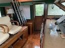Hatteras-Euro Transom Motor Yacht 1989-Different Drummer II Stuart-Florida-United States-Flybridge Ladder-1449938 | Thumbnail