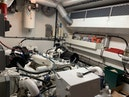Hatteras-Euro Transom Motor Yacht 1989-Different Drummer II Stuart-Florida-United States-Port Engine Room-1450026 | Thumbnail