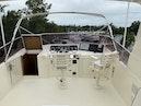 Hatteras-Euro Transom Motor Yacht 1989-Different Drummer II Stuart-Florida-United States-Flybridge Helm-1450001 | Thumbnail