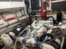 Hatteras-Euro Transom Motor Yacht 1989-Different Drummer II Stuart-Florida-United States-Port Engine Room-1450025 | Thumbnail