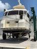 Hatteras-Euro Transom Motor Yacht 1989-Different Drummer II Stuart-Florida-United States-Stern, Running Gear  In Slings-1486877 | Thumbnail