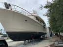 Hatteras-Euro Transom Motor Yacht 1989-Different Drummer II Stuart-Florida-United States-Bow Hull View-1450048 | Thumbnail
