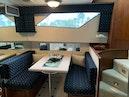 Hatteras-Euro Transom Motor Yacht 1989-Different Drummer II Stuart-Florida-United States-Dinette-1449955 | Thumbnail