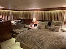 Hatteras-Euro Transom Motor Yacht 1989-Different Drummer II Stuart-Florida-United States-Master Settee-1449964 | Thumbnail