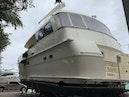 Hatteras-Euro Transom Motor Yacht 1989-Different Drummer II Stuart-Florida-United States-Port Aft Quarter View-1450051 | Thumbnail