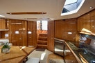 Sunseeker-Predator 2003-Low Profile PALM BEACH-Florida-United States-Main Salon And Galley View From V Berth Door-1576340 | Thumbnail