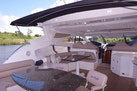 Sunseeker-Predator 2003-Low Profile PALM BEACH-Florida-United States-Aft Tables And Seating-1576385 | Thumbnail