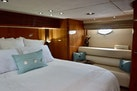 Sunseeker-Predator 2003-Low Profile PALM BEACH-Florida-United States-Master Stateroom View To Port Couch-1576349 | Thumbnail