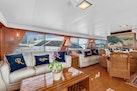 Hatteras-Motor Yacht 1985-Ruffian North Palm Beach-Florida-United States-Salon Settee-1463625 | Thumbnail