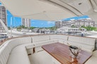 Hatteras-Motor Yacht 1985-Ruffian North Palm Beach-Florida-United States-Flybridge Aft Seating-1463659 | Thumbnail