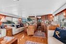 Hatteras-Motor Yacht 1985-Ruffian North Palm Beach-Florida-United States-Main Salon looking Forward-1463626 | Thumbnail