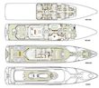 Oceanfast 1989-SHES A 10 Fort Lauderdale-Florida-United States-Layout-1493665 | Thumbnail