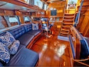 Little Harbor-78 1984-HERMIE LOUISE Portsmouth-Rhode Island-United States-Salon, Looking Aft-1536749 | Thumbnail