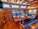Little Harbor-78 1984-HERMIE LOUISE Portsmouth-Rhode Island-United States-Salon Dining, Port-1536750 | Thumbnail