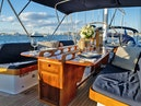 Little Harbor-78 1984-HERMIE LOUISE Portsmouth-Rhode Island-United States-Cockpit Table-1536731 | Thumbnail