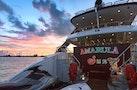 Trinity Yachts-164 Tri-deck Motor Yacht 2008-Amarula Sun Fort Lauderdale-Florida-United States-Transom At Sunset-1513961   Thumbnail