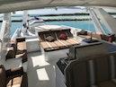 Broward-Custom Extended 1990-MON SHERI Fort Lauderdale-Florida-United States-Flybridge Looking Aft-1515106 | Thumbnail